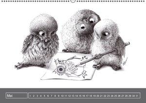 owls & friends Immerwährender Kalender (Wandkalender immerwähren