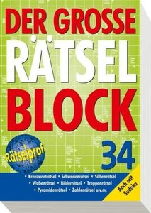 Der große Rätselblock 34