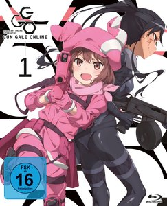 Sword Art Online Alternative: Gun Gale Online - Blu-ray 1 (Ep 1-