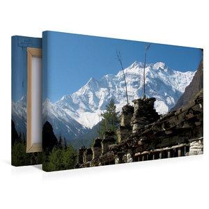 Premium Textil-Leinwand 45 cm x 30 cm quer Weg nach Nawal - Anna