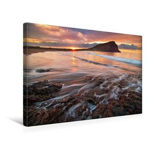 Premium Textil-Leinwand 45 cm x 30 cm quer Tejita Sunrise