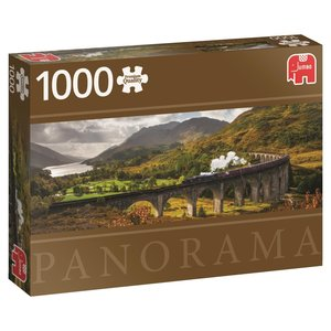 Jumbo 18521 - Glenfinnan Eisenbahnbrücke Schottland, Panorama Pu