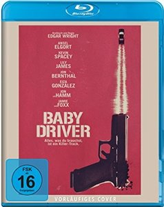 Baby Driver, 1 Blu-ray