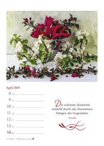 Zauberhafte Blumensträuße - Kalender 2019