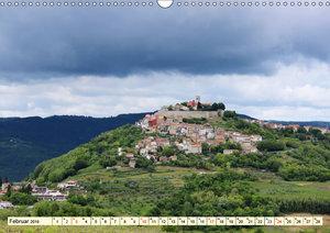Frühling in den Bergen von Istrien (Wandkalender 2019 DIN A3 que