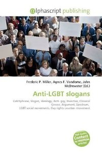 Anti-LGBT slogans
