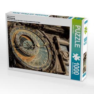 Ein Motiv aus dem Kalender Winterprag 1000 Teile Puzzle hoch