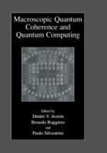 Macroscopic Quantum Coherence and Quantum Computing