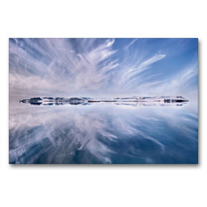 Premium Textil-Leinwand 90 cm x 60 cm quer Only A Beautiful Arct