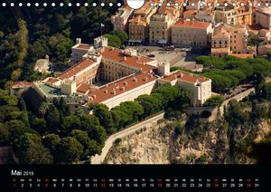 Faszination Monaco (Wandkalender 2019 DIN A4 quer)