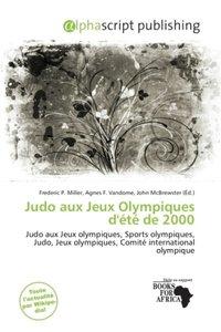 Judo aux Jeux Olympiques d\'été de 2000