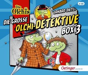 Die große Olchi-Detektive-Box. Tl.3, 4 Audio-CDs