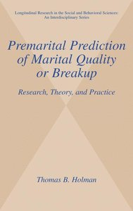 Premarital Prediction of Marital Quality or Breakup
