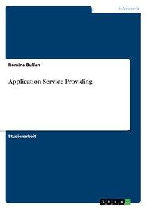 Application Service Providing