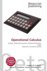 Operational Calculus