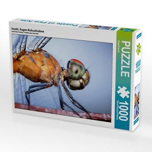 Insekt, Augen-Nahaufnahme 1000 Teile Puzzle quer