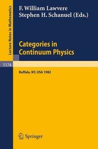 Categories in Continuum Physics
