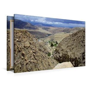 Premium Textil-Leinwand 120 cm x 80 cm quer Atacama Wüste, Chile