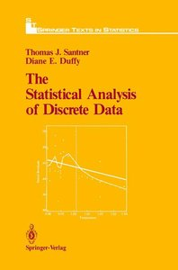 The Statistical Analysis of Discrete Data