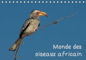 Monde des oiseaux africain (Calendrier chevalet 2015 DIN A5 hori