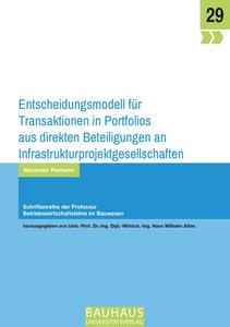 Entscheidungsmodell für Transaktionen in Portfolios aus direkten