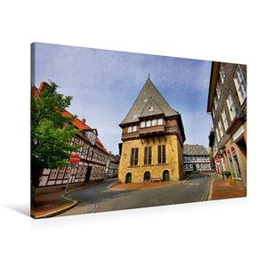 Premium Textil-Leinwand 90 cm x 60 cm quer Bäckergildehaus