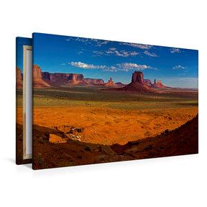 Premium Textil-Leinwand 120 cm x 80 cm quer Monument Valley, Ari