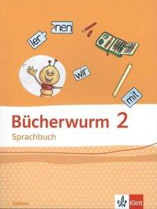 Bücherwurm Sprachbuch. Schülerbuch 2. Schuljahr. Ausgabe für Sac