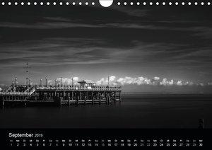 Maritimes monochrom (Wandkalender 2019 DIN A4 quer)