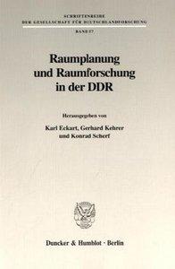 Raumplanung und Raumforschung in der DDR
