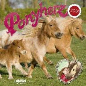 Ponyherz 2018 Wandkalender