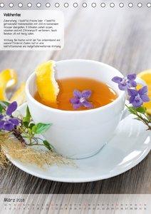 Teezeit - Rezeptkalender