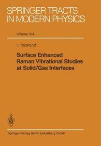 Surface Enhanced Raman Vibrational Studies at Solid Gas Interfac