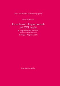 Richerche sulla lingua osmanli del XVI secolo