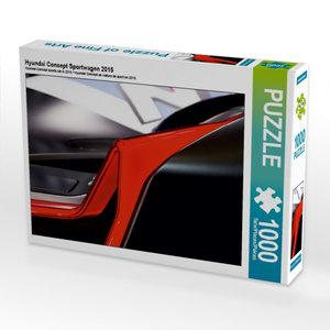 Hyundai Concept Sportwagen 2015 1000 Teile Puzzle quer