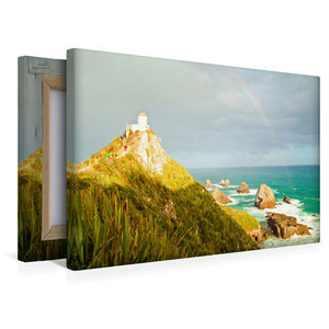 Premium Textil-Leinwand 45 cm x 30 cm quer Nugget Point Lighthou
