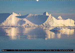 Ilulissat Eisfjord, Grönland. EIS - FORM UND LICHT