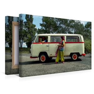 Premium Textil-Leinwand 45 cm x 30 cm quer T2