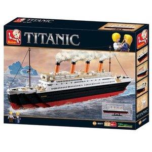 Sluban M38-B0577 - Titanic, großer Bausatz 1012 Teile