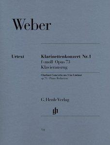Klarinettenkonzert Nr. 1 f-moll op. 73