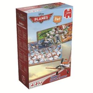 Disney Planes - 2 in 1 Spiel - Ludo und Leiterspiel