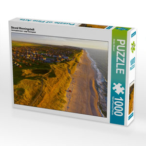 Strand Wenningstedt 1000 Teile Puzzle quer
