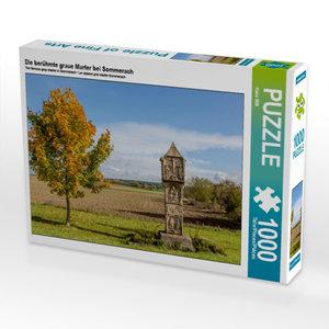 Die berühmte graue Marter bei Sommerach 1000 Teile Puzzle quer