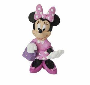 Bullyland 15328 - Walt Disney Minnie mit Tasche, Spielfigur, 7 c