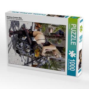 Kristinas Custom Bike 1000 Teile Puzzle hoch