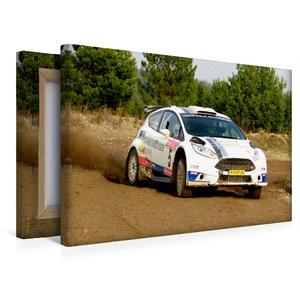 Premium Textil-Leinwand 45 cm x 30 cm quer Ford Fiesta R5
