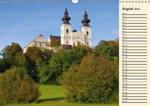 Die Wachau - Bezaubernde Orte an der Donau (Wandkalender 2019 DI