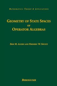 Geometry of State Spaces of Operator Algebras