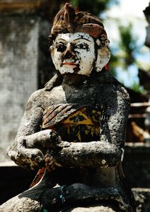 Bali Stonesfaces (Posterbuch DIN A2 hoch)