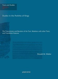 Studies in the Peshitta of Kings